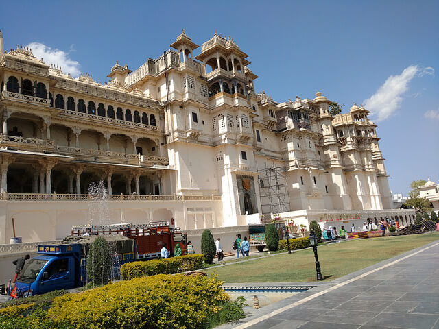 Front Side of the City Palace