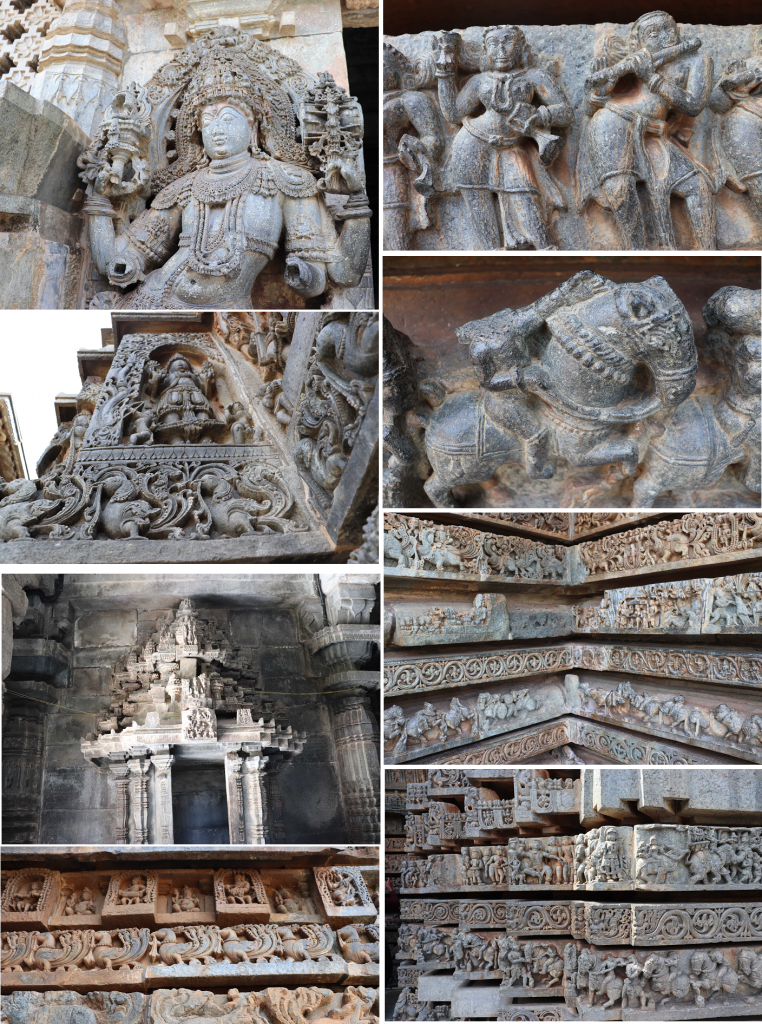 Stone Sculptures in Halebidu