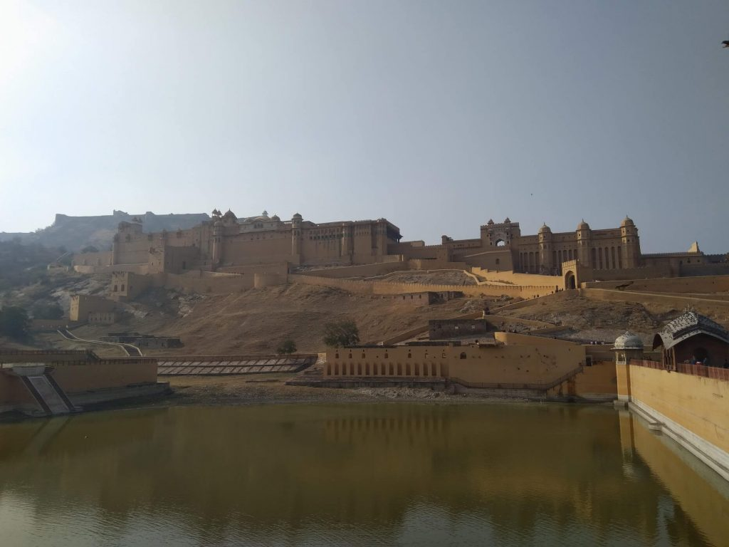 A View of Amber Fort