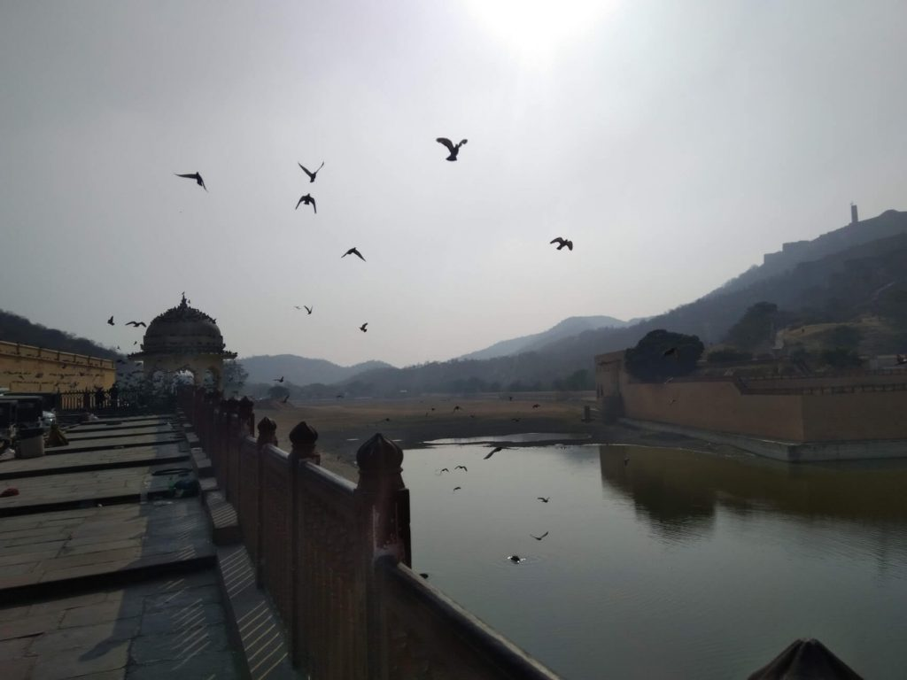 Inside of Amber Fort
