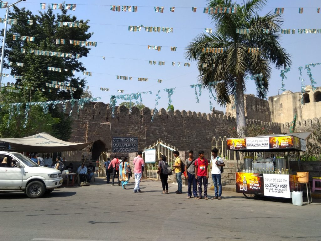 Golconda Fort Entrance