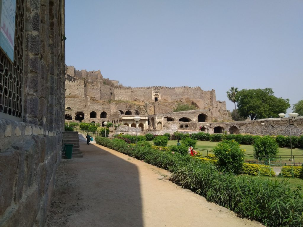 Golconda Fort from Inside