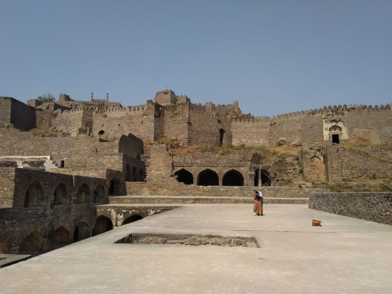 Golconda Fort Ruins