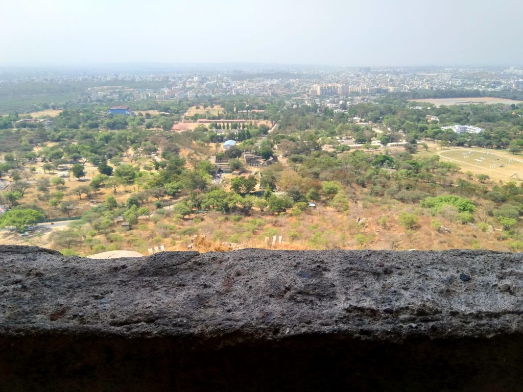 View from the Top of Golconda Fort